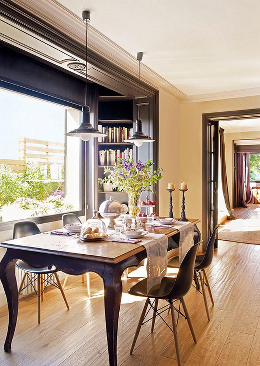 adelaparvu.com despre apartament de doua camere, 70 mp, terasa la bloc, Foto ElMueble (6)