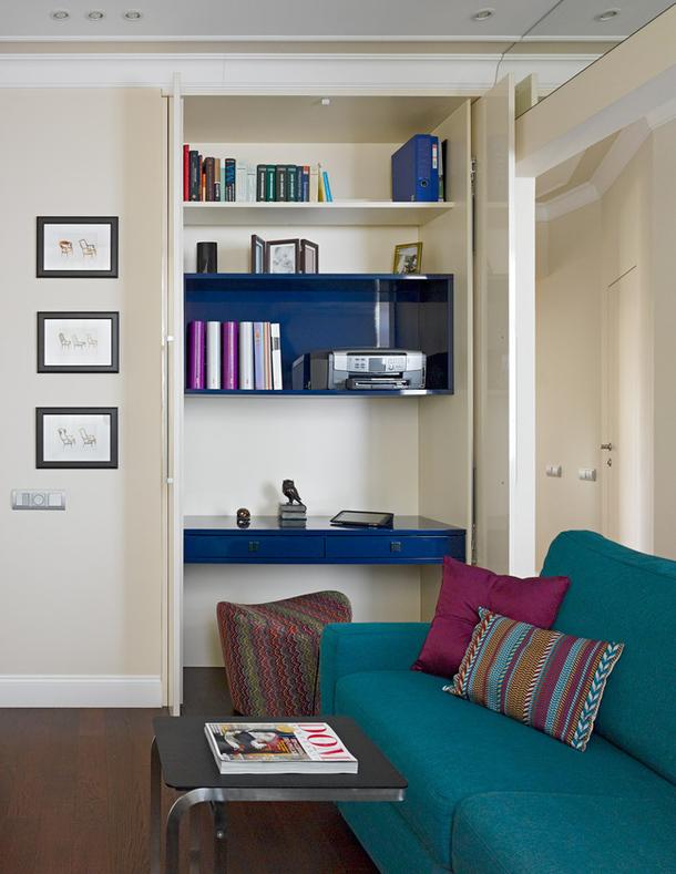 adelaparvu.com despre apartament trei camere elegant, design Marina Pennie, Foto AD (6)