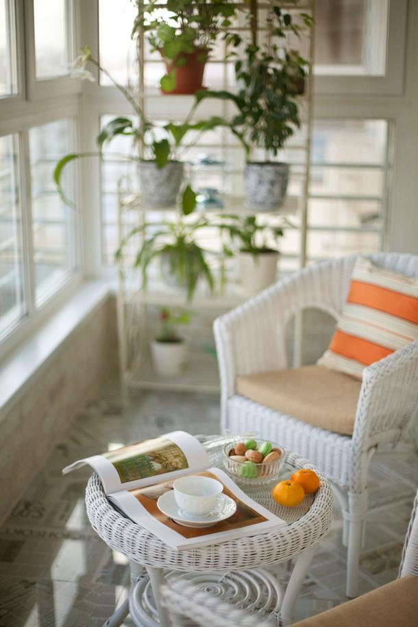 adelaparvu.com despre balcon la bloc, amenajare eleganta balcon, designer Kati Chistovoy, Foto AD Russia (3)