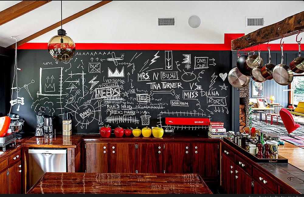 adelaparvu.com despre cabana cu interior colorat si piese de design, casa americana, designer Bradford Shellhammer, Foto Trevor Tondro (13)