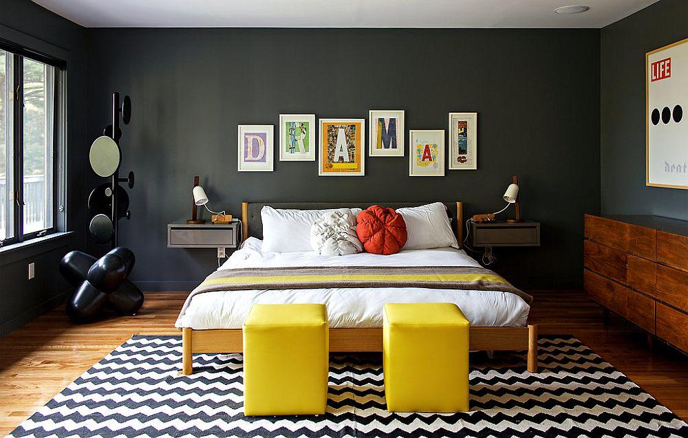 adelaparvu.com despre cabana cu interior colorat si piese de design, casa americana, designer Bradford Shellhammer, Foto Trevor Tondro (20)