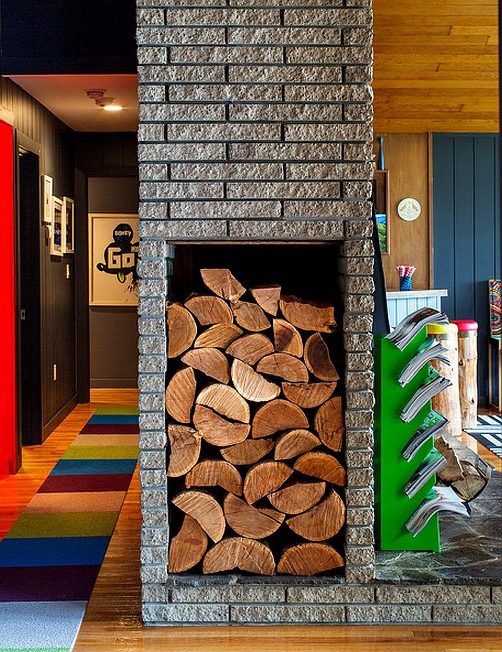 adelaparvu.com despre cabana cu interior colorat si piese de design, casa americana, designer Bradford Shellhammer, Foto Trevor Tondro (9)