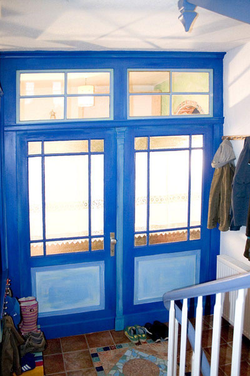adelaparvu.com despre casa colorata, gard cu forma de creioane, interioare colorate, idei creative acasa, designer Bine Braendle (53)
