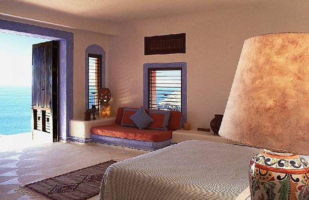 adelaparvu.com despre casa de vacanta pe malul marii cu mobilier din lut, arhitectura mexicana, arh Manuel Mestre Noriega (10)