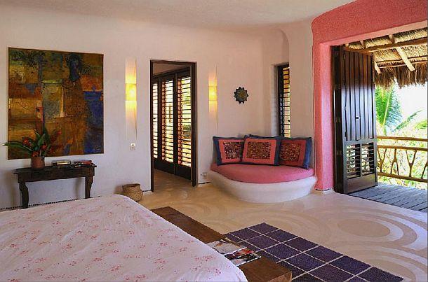 adelaparvu.com despre casa de vacanta pe malul marii cu mobilier din lut, arhitectura mexicana, arh Manuel Mestre Noriega (11)