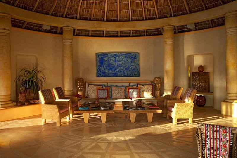 adelaparvu.com despre casa de vacanta pe malul marii cu mobilier din lut, arhitectura mexicana, arh Manuel Mestre Noriega (12)