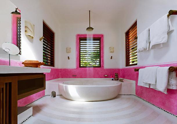 adelaparvu.com despre casa de vacanta pe malul marii cu mobilier din lut, arhitectura mexicana, arh Manuel Mestre Noriega (2)