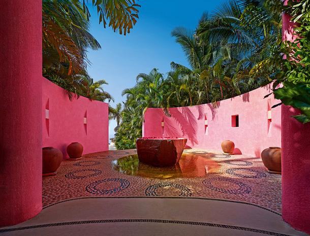 adelaparvu.com despre casa de vacanta pe malul marii cu mobilier din lut, arhitectura mexicana, arh Manuel Mestre Noriega (3)