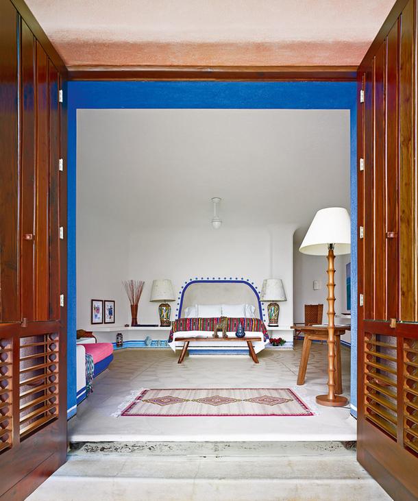 adelaparvu.com despre casa de vacanta pe malul marii cu mobilier din lut, arhitectura mexicana, arh Manuel Mestre Noriega (5)