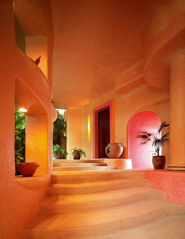 adelaparvu.com despre casa de vacanta pe malul marii cu mobilier din lut, arhitectura mexicana, arh Manuel Mestre Noriega (8)