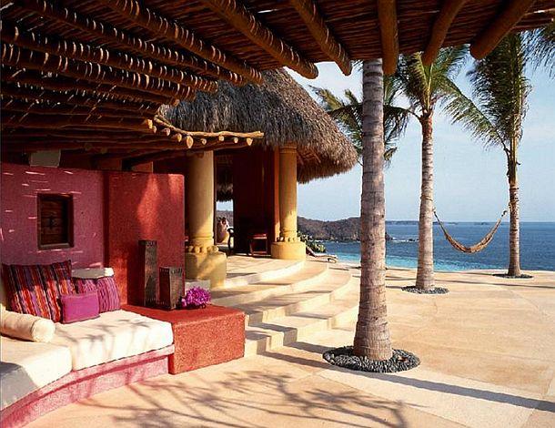 adelaparvu.com despre casa de vacanta pe malul marii cu mobilier din lut, arhitectura mexicana, arh Manuel Mestre Noriega (9)