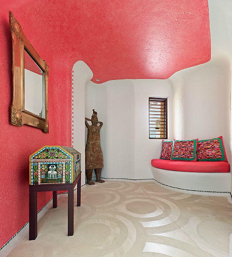adelaparvu.com despre casa de vacanta pe malul marii cu mobilier din lut, arhitectura mexicana, arh Manuel Mestre Noriega, Foto James Silverman  (10)