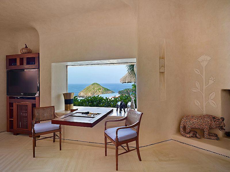 adelaparvu.com despre casa de vacanta pe malul marii cu mobilier din lut, arhitectura mexicana, arh Manuel Mestre Noriega, Foto James Silverman  (11)