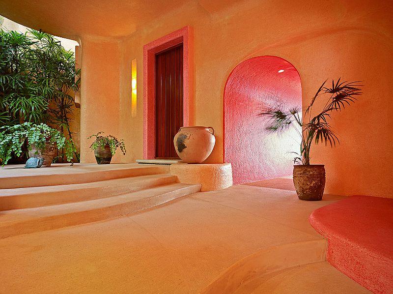 adelaparvu.com despre casa de vacanta pe malul marii cu mobilier din lut, arhitectura mexicana, arh Manuel Mestre Noriega, Foto James Silverman  (13)