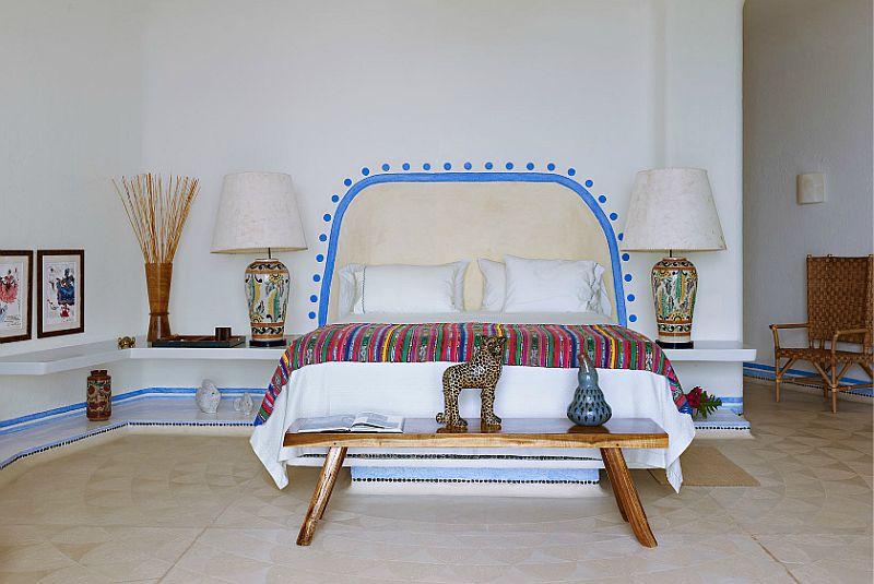 adelaparvu.com despre casa de vacanta pe malul marii cu mobilier din lut, arhitectura mexicana, arh Manuel Mestre Noriega, Foto James Silverman  (15)