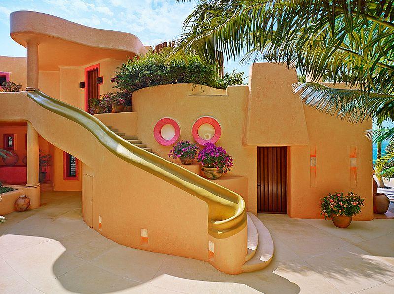 adelaparvu.com despre casa de vacanta pe malul marii cu mobilier din lut, arhitectura mexicana, arh Manuel Mestre Noriega, Foto James Silverman  (5)