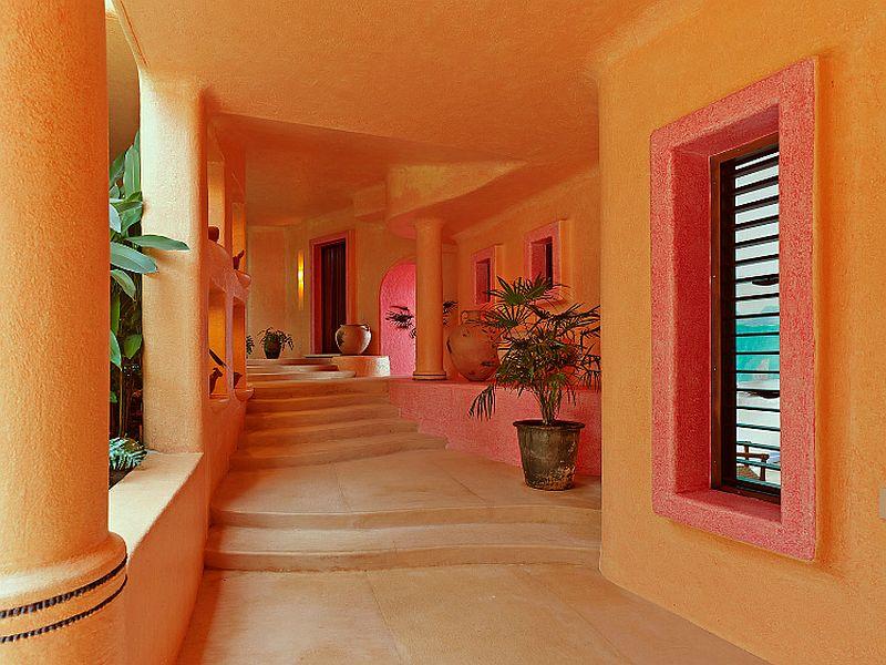 adelaparvu.com despre casa de vacanta pe malul marii cu mobilier din lut, arhitectura mexicana, arh Manuel Mestre Noriega, Foto James Silverman  (6)
