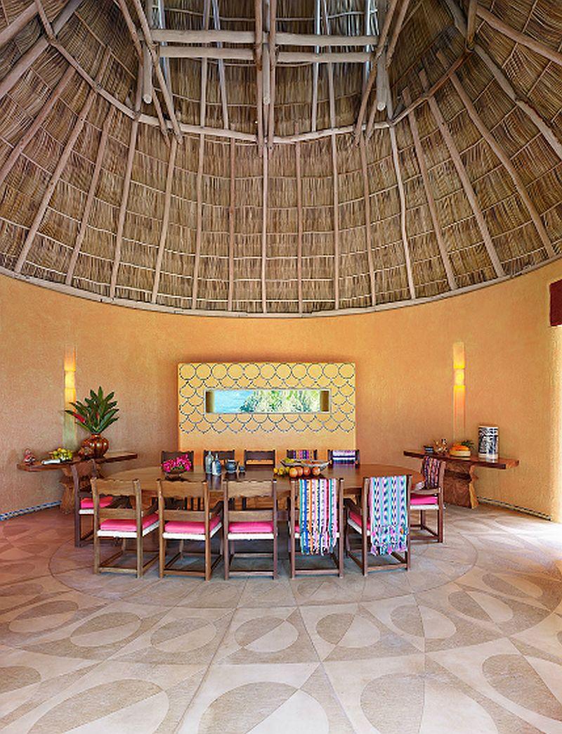 adelaparvu.com despre casa de vacanta pe malul marii cu mobilier din lut, arhitectura mexicana, arh Manuel Mestre Noriega, Foto James Silverman  (8)