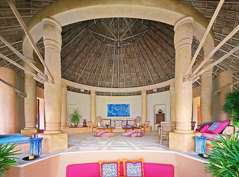 adelaparvu.com despre casa de vacanta pe malul marii cu mobilier din lut, arhitectura mexicana, arh Manuel Mestre Noriega, Foto James Silverman  (9)