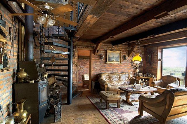 adelaparvu.com despre casa din caramida pe malul apei, casa Polonia, Foto Sara Niedzwiecka  (4)