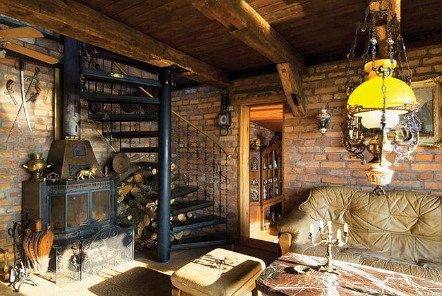 adelaparvu.com despre casa din caramida pe malul apei, casa Polonia, Foto Sara Niedzwiecka  (5)