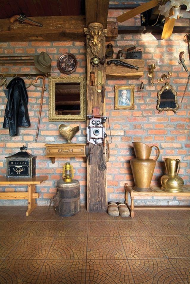 adelaparvu.com despre casa din caramida pe malul apei, casa Polonia, Foto Sara Niedzwiecka  (6)