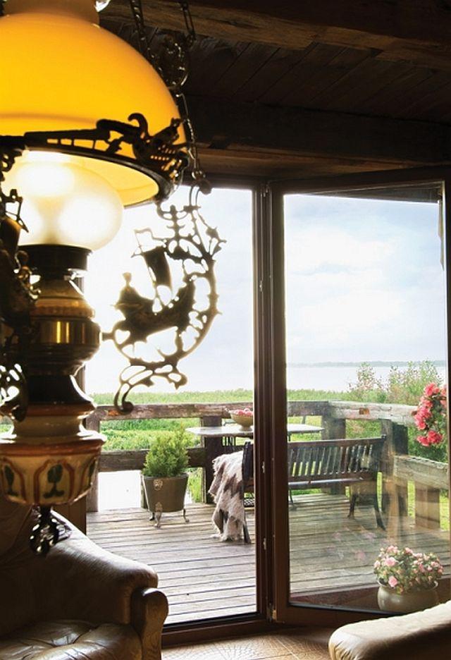 adelaparvu.com despre casa din caramida pe malul apei, casa Polonia, Foto Sara Niedzwiecka  (9)