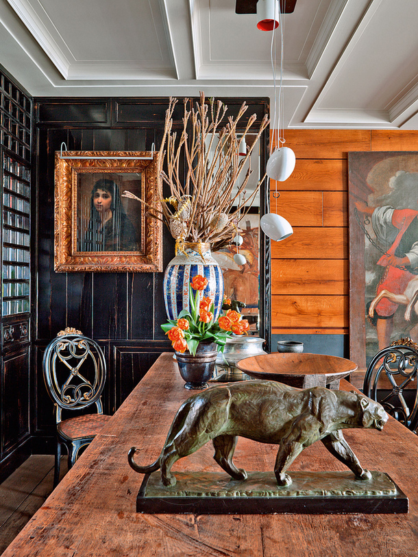 adelaparvu.com despre casa la Istanbul, casa cu decor clasic, eclectic, designer Hakan Ezer, Foto AD (4)