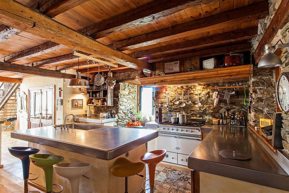 adelaparvu.com despre casa rustica cu interior modern in muntii Pirinei, Spania, Foto Hikarifoto (2)