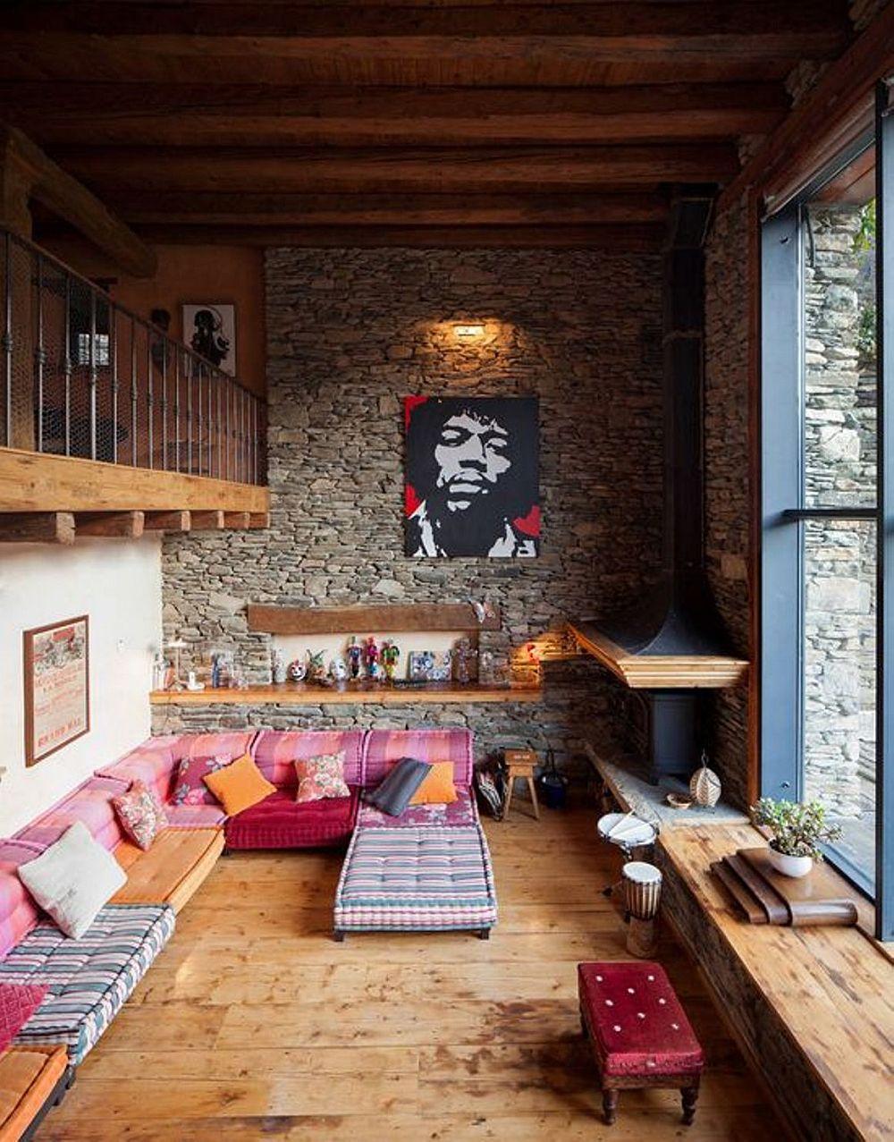 adelaparvu.com despre casa rustica cu interior modern in muntii Pirinei, Spania, Foto Hikarifoto (8)