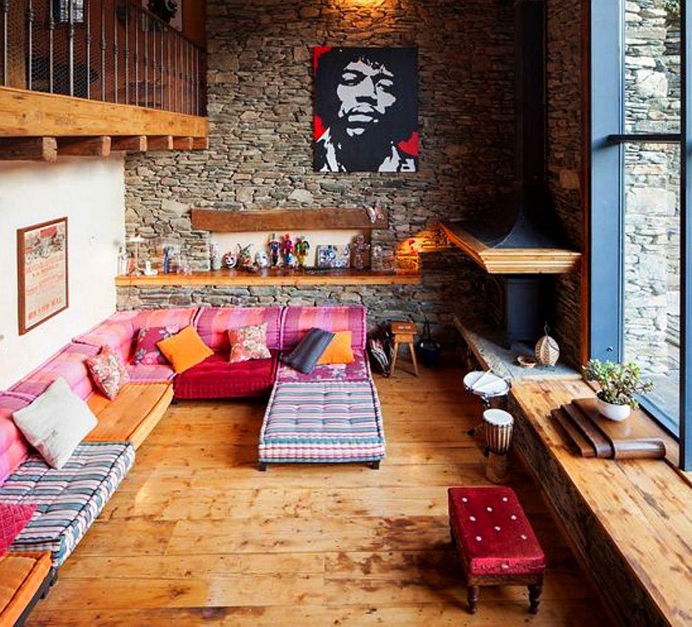 adelaparvu.com despre casa rustica cu interior modern in muntii Pirinei, Spania, Foto Hikarifoto