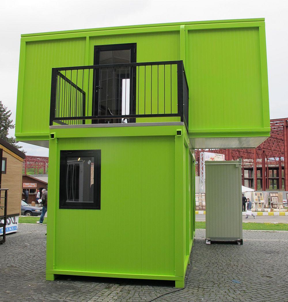 Casa din module prefabricate de la Euro Modul