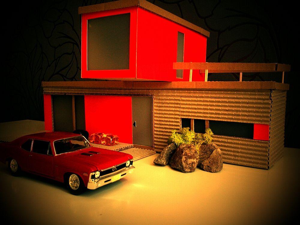 Macheta locuinta creata de designerul Constantin Alupoaei
