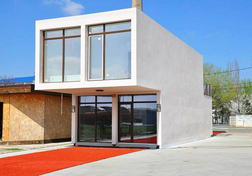 Casa din containere Premier House 120 mp la interior, pret 45.000 de euro cu TVA inclus