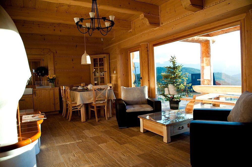 adelaparvu.com despre case rustice din busteni de lemn, case cu acoperis din stuf, case Polonia Osada Beskidzka (13)