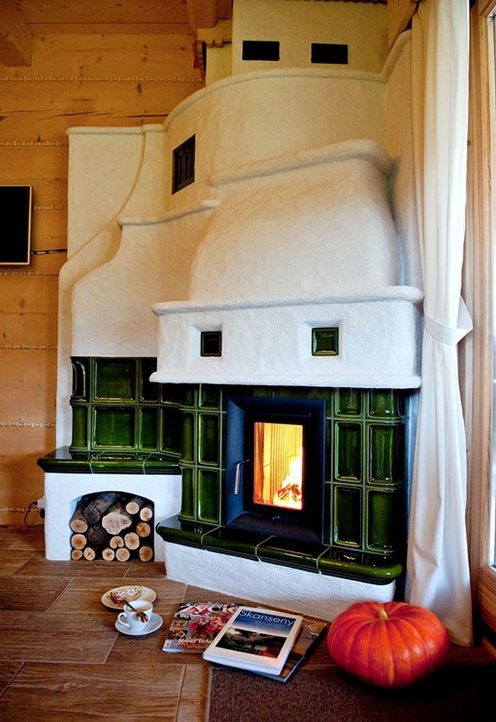 adelaparvu.com despre case rustice din busteni de lemn, case cu acoperis din stuf, case Polonia Osada Beskidzka (19)