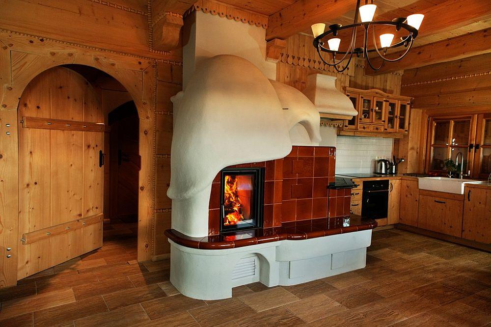 adelaparvu.com despre case rustice din busteni de lemn, case cu acoperis din stuf, case Polonia Osada Beskidzka (31)