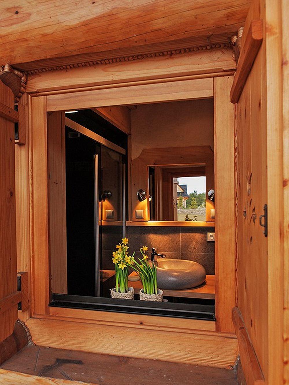 adelaparvu.com despre case rustice din busteni de lemn, case cu acoperis din stuf, case Polonia Osada Beskidzka (37)