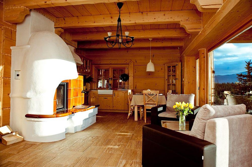 adelaparvu.com despre case rustice din busteni de lemn, case cu acoperis din stuf, case Polonia Osada Beskidzka (7)