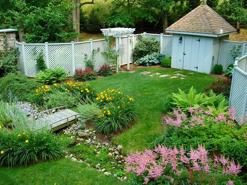 adelaparvu.com despre gradina frumoasa cu gard din piatra, gard ca fatada unei casei, design Slater Associates Landscape Architects (1)