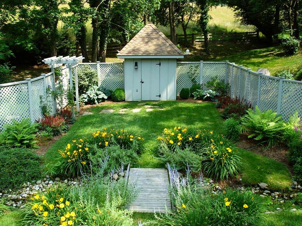 adelaparvu.com despre gradina frumoasa cu gard din piatra, gard ca fatada unei casei, design Slater Associates Landscape Architects (2)