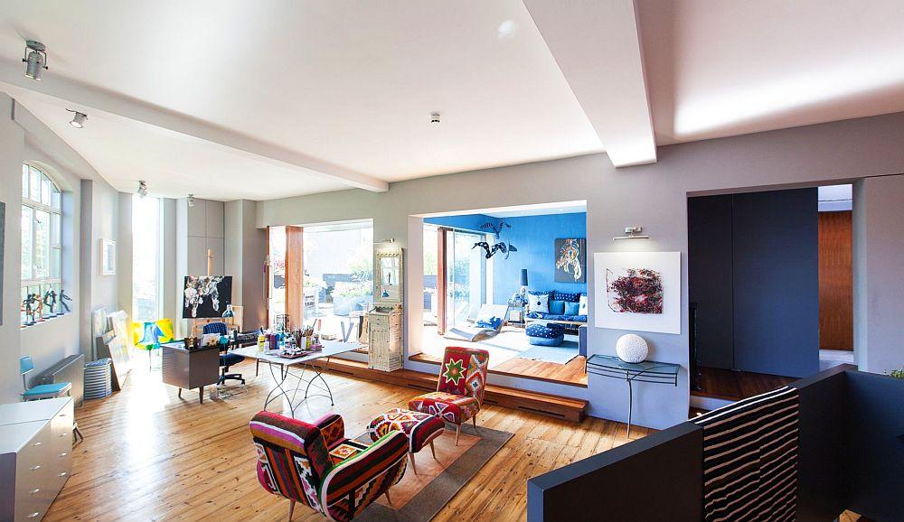 adelaparvu.com despre locuinta atelier pictura, penthouse, designer Nicky Barthorpe (11)