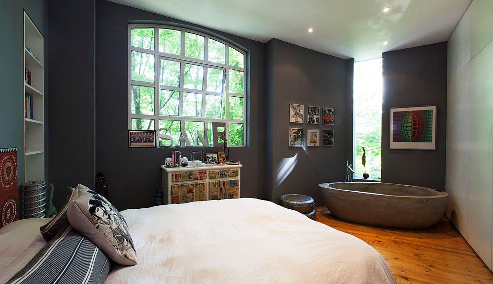 adelaparvu.com despre locuinta atelier pictura, penthouse, designer Nicky Barthorpe (18)