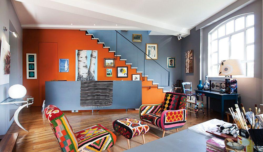 adelaparvu.com despre locuinta atelier pictura, penthouse, designer Nicky Barthorpe (22)