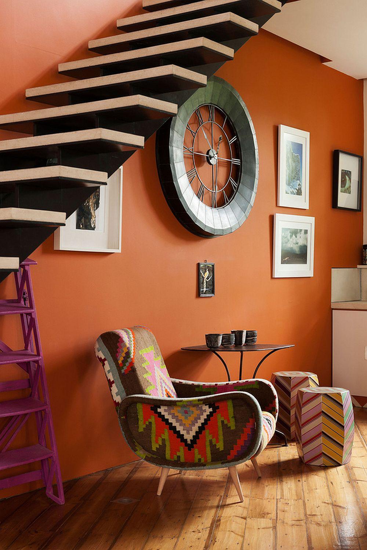 adelaparvu.com despre locuinta atelier pictura, penthouse, designer Nicky Barthorpe (4)