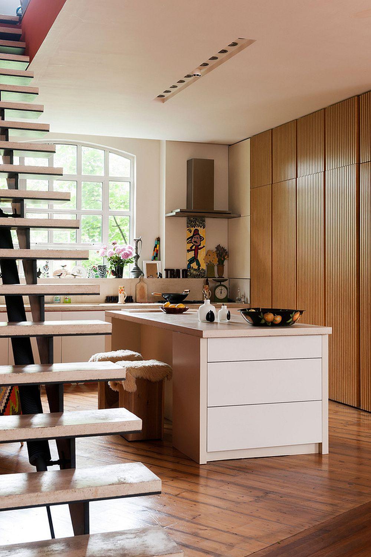 adelaparvu.com despre locuinta atelier pictura, penthouse, designer Nicky Barthorpe (7)