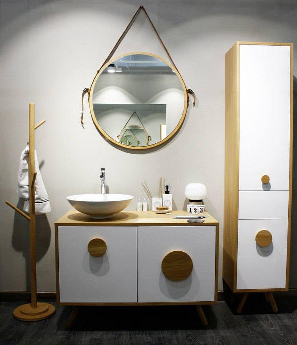 adelaparvu.com despre mobila de baie Smart Luxury la Milano, mobila baie lemn masiv si Corian Delta Studio (1)