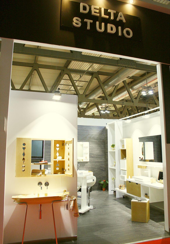 adelaparvu.com despre mobila de baie Smart Luxury la Milano, mobila baie lemn masiv si Corian Delta Studio (10)