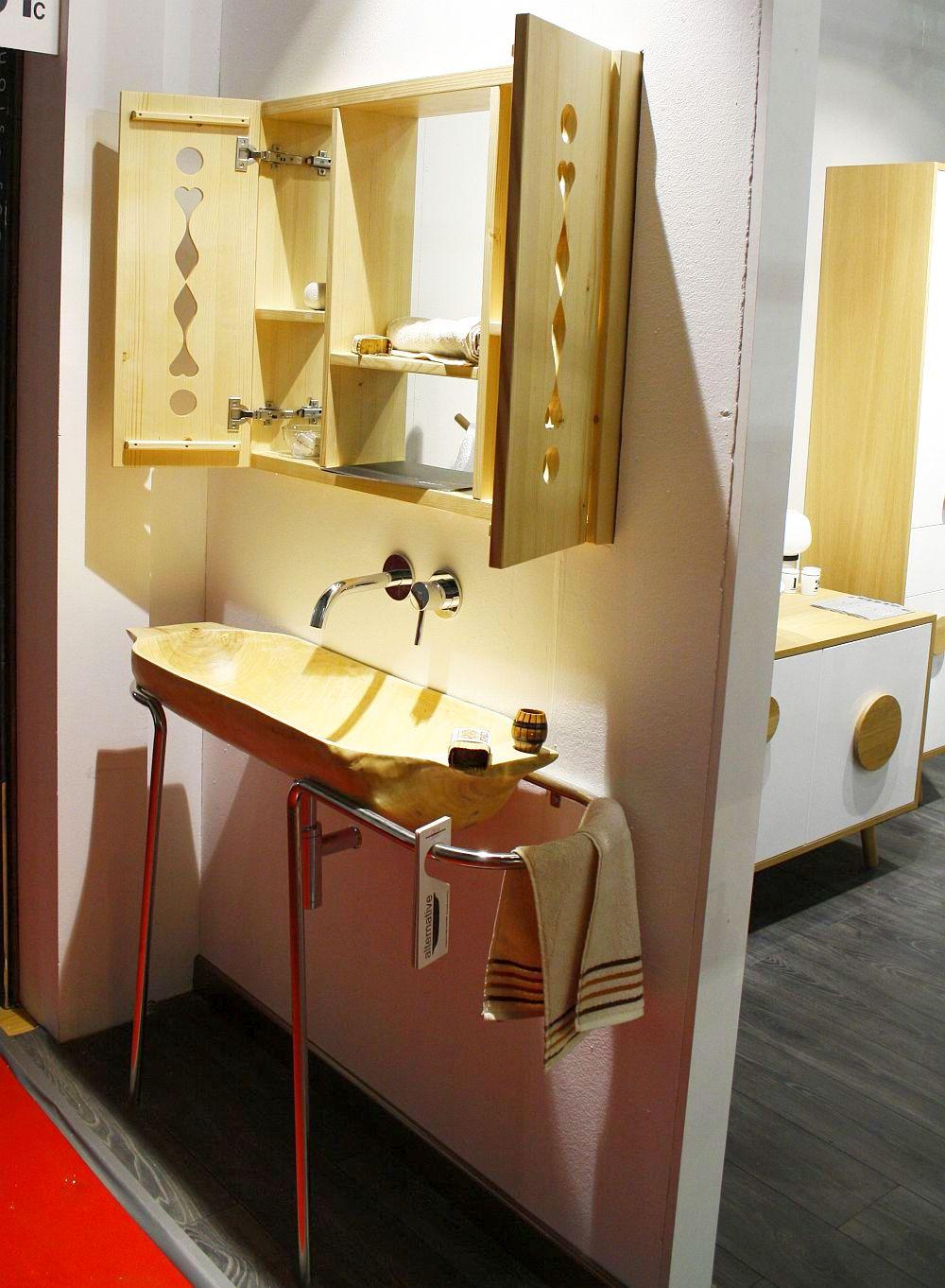 adelaparvu.com despre mobila de baie Smart Luxury la Milano, mobila baie lemn masiv si Corian Delta Studio (6)