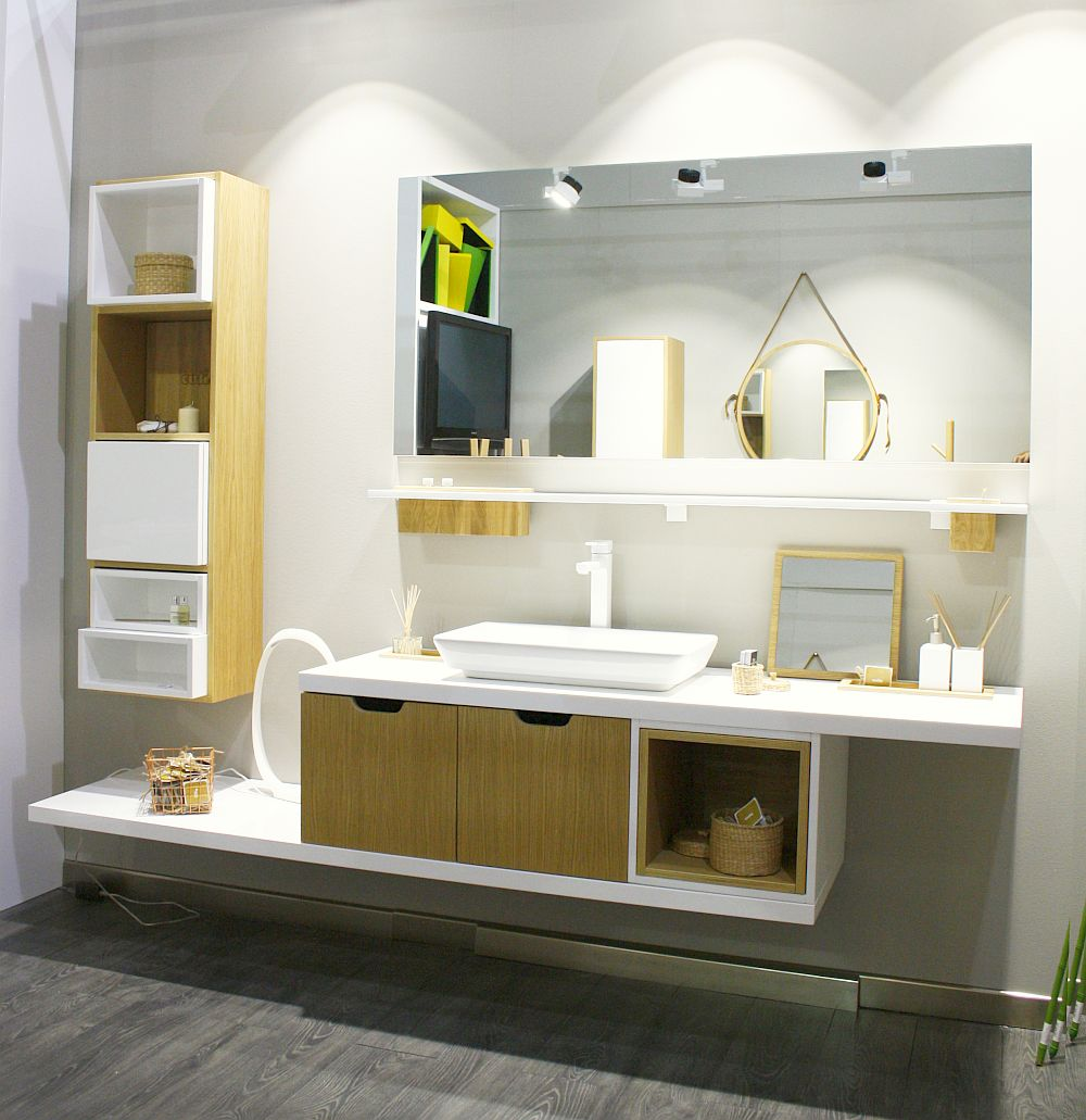 Cutia, concept baie designer arh. Andreea Pinter